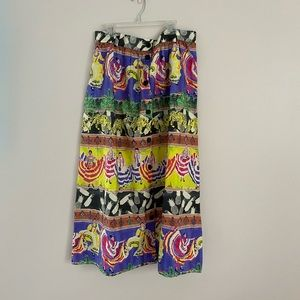 And Other Stories PRINTED VINTAGE MIDI SKIRT